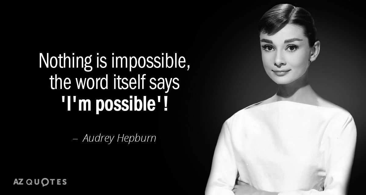 Audrey Hepburn Quote | Top 25 Quotes By Audrey Hepburn Of 178 A Z Quotes