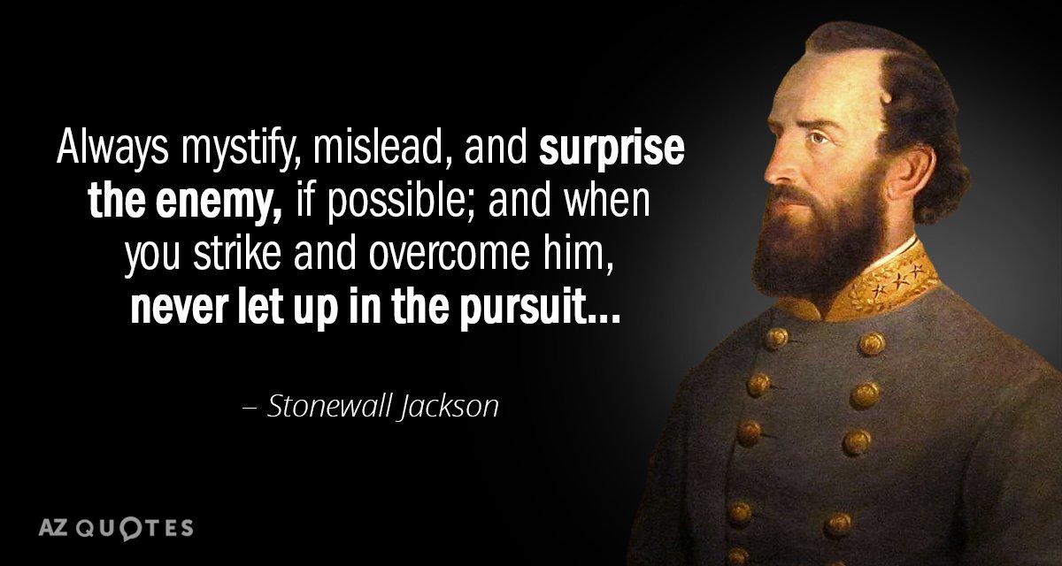 Stonewall Jackson Quotes Interesting TOP 48 QUOTES BY STONEWALL JACKSON Of 48 AZ Quotes