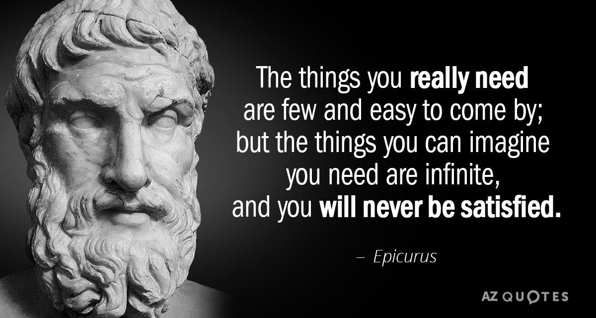 Image result for Epicurus