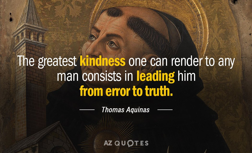 Thomas Aquinas Quotes TOP 25 QUOTES BY THOMAS AQUINAS (of 335) | A Z Quotes Thomas Aquinas Quotes