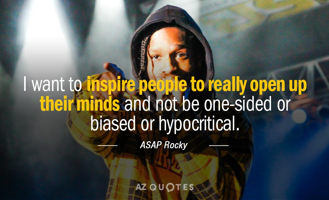 Best 25 Asap Rocky Quotes Ideas On Pinterest: TOP 25 QUOTES BY ASAP ROCKY (of 76)