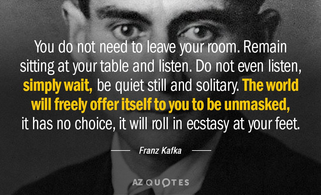Top 25 Quotes By Franz Kafka Of 420 A Z Quotes