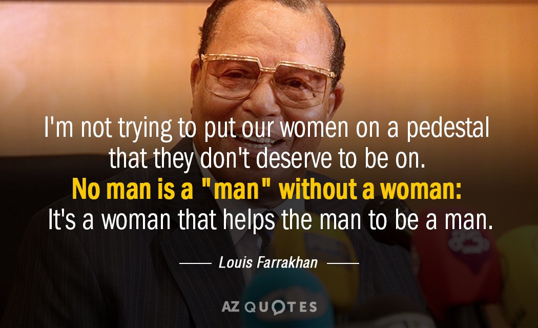 TOP 25 QUOTES BY LOUIS FARRAKHAN (of 255)