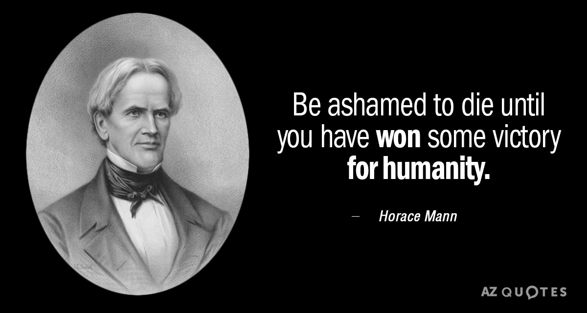 Horace Mann Quotes Beauteous TOP 48 QUOTES BY HORACE MANN Of 48 AZ Quotes