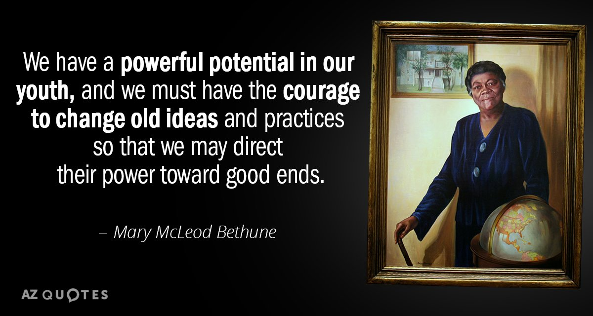 Mary Mcleod Bethune Quotes Stunning TOP 48 QUOTES BY MARY MCLEOD BETHUNE AZ Quotes