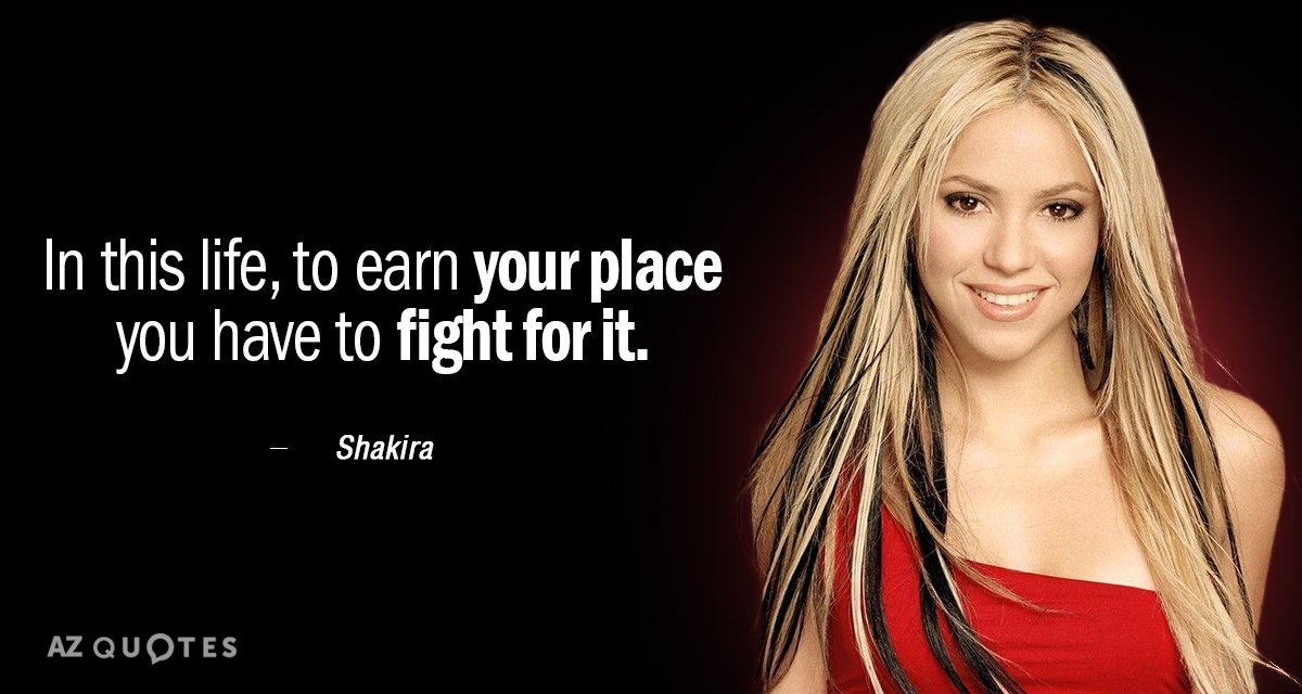 Top 25 Quotes By Shakira Of 123 A Z Quotes