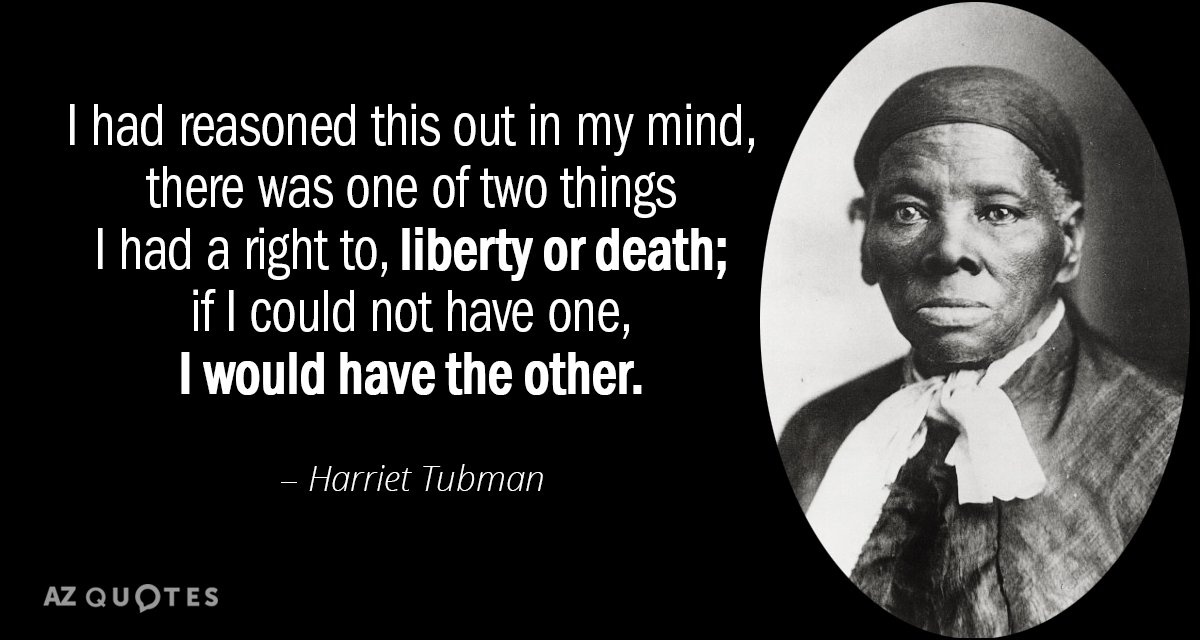 TOP 60 QUOTES BY HARRIET TUBMAN AZ Quotes Simple Harriet Tubman Quotes