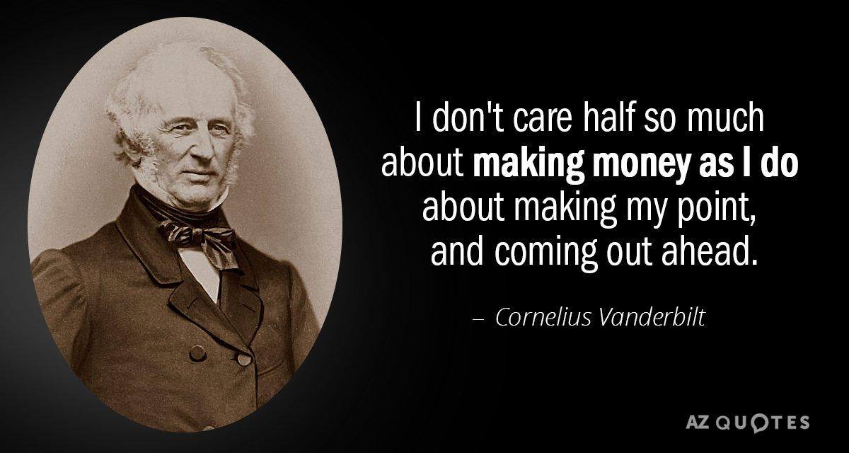 TOP 11 QUOTES BY CORNELIUS VANDERBILT