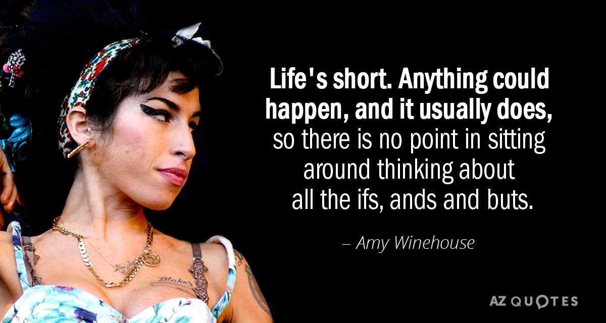 Good Amy Winehouse Quotes: top 1 quotes about Good Amy ...