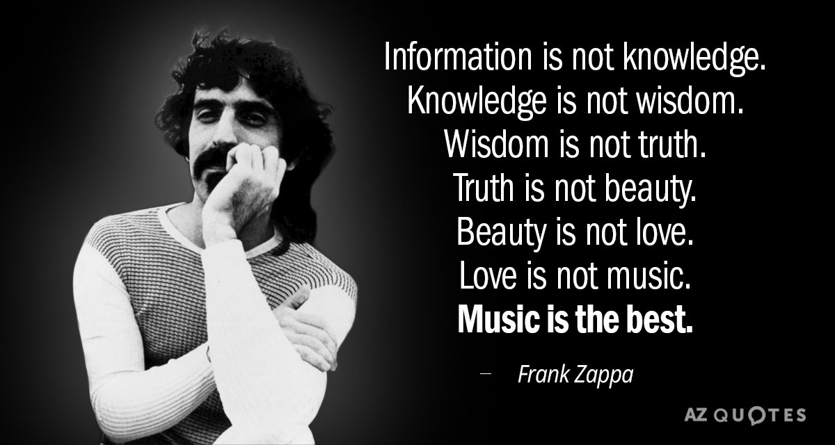 Quotation-Frank-Zappa-Information-is-not