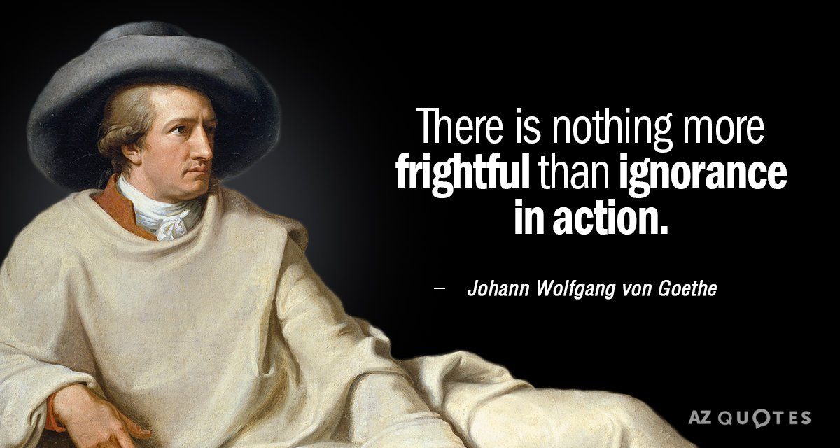 Johann Wolfgang Von Goethe Quote There Is Nothing More