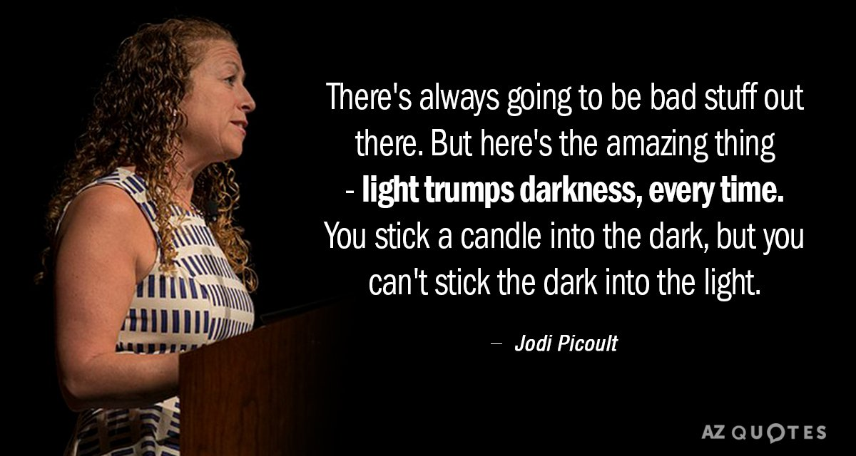 Top 25 Quotes By Jodi Picoult Of 1110 A Z Quotes