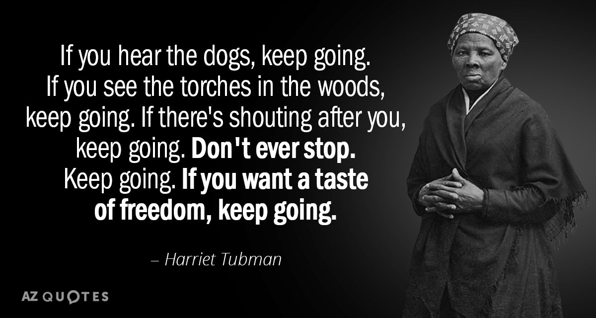 TOP 60 QUOTES BY HARRIET TUBMAN AZ Quotes Mesmerizing Harriet Tubman Quotes