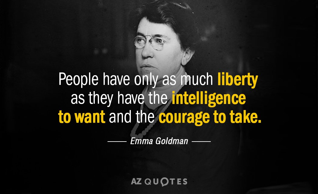 Top 25 Quotes By Emma Goldman Of 288 A Z Quotes