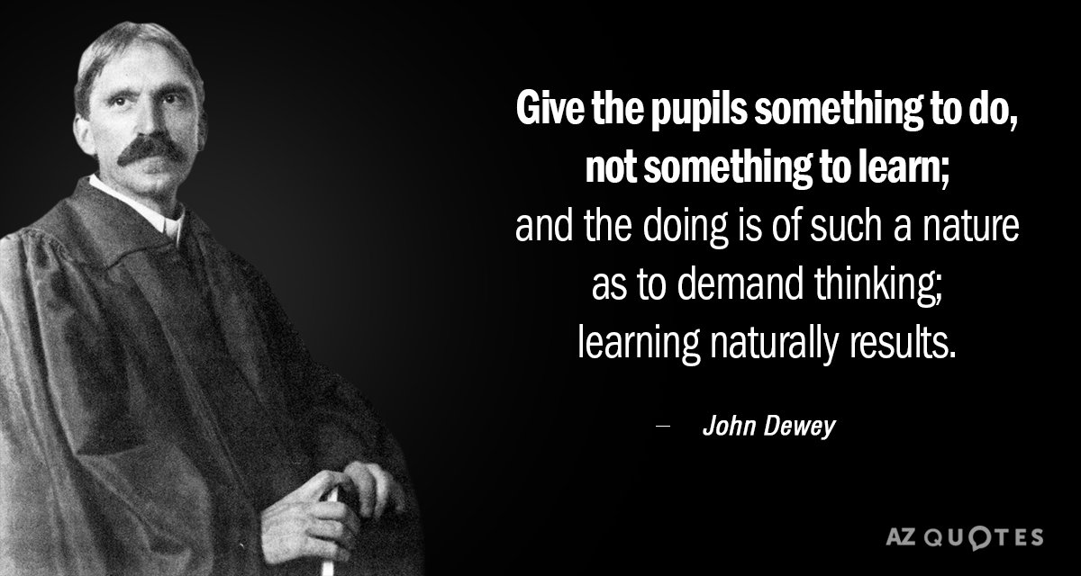 top quotes by john dewey of a z quotes