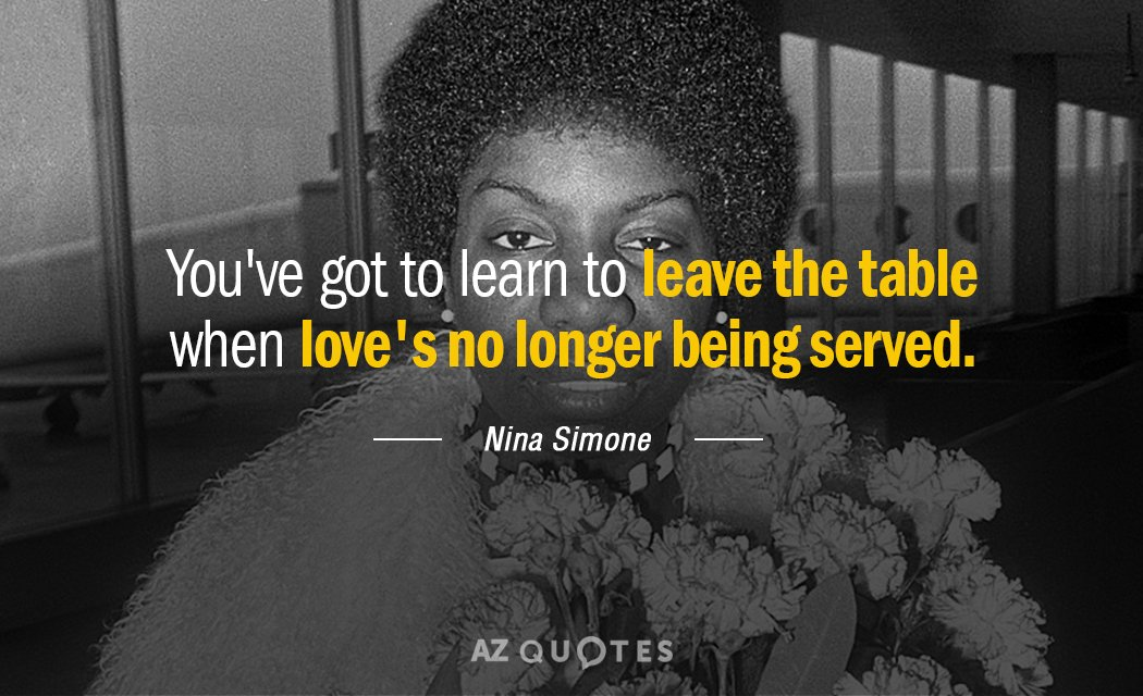 TOP 25 QUOTES BY NINA SIMONE (of 108)