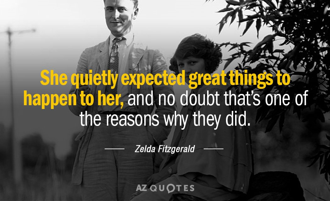 TOP 60 QUOTES BY ZELDA FITZGERALD Of 60 AZ Quotes Simple Zelda Fitzgerald Quotes