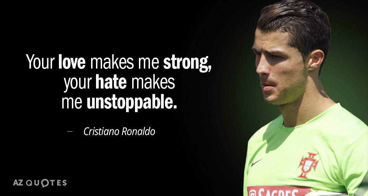 TOP 25 CRISTIANO RONALDO QUOTES ON WINNING & SOCCER