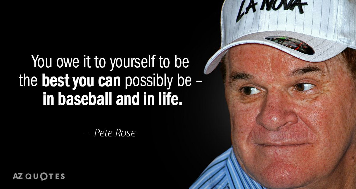 the life and baseball career of pete rose Pete rose, whose career with the cincinnati reds and philadelphia phillies holds many major league records, was banned from baseball for life for baseball commissioner bart giamatti first exiled rose as punishment for gambling his successors, fay vincent and bud selig, later upheld rose's.