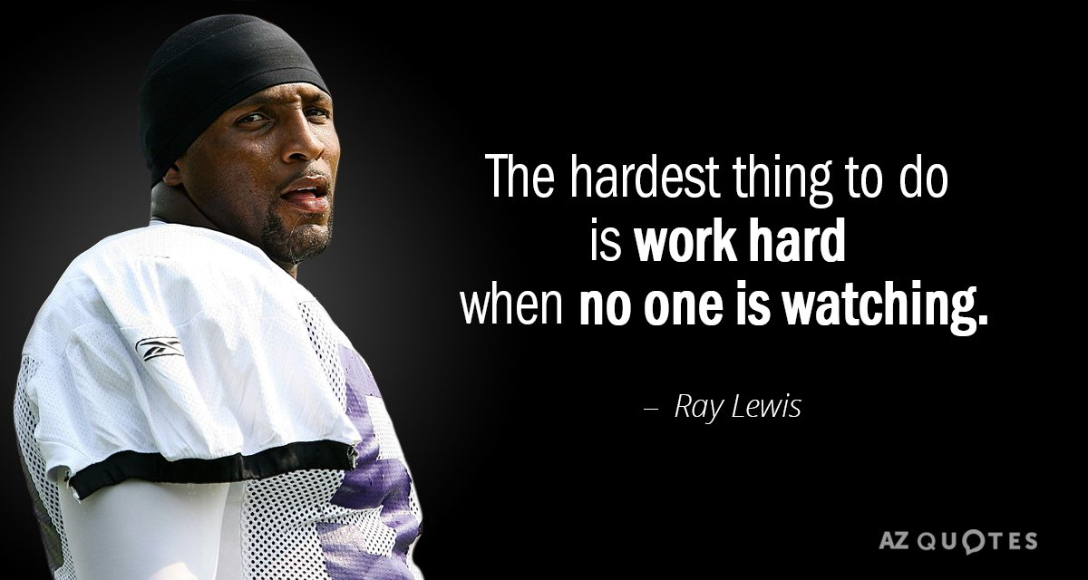 TOP 25 QUOTES BY RAY LEWIS (of 132) | A Z Quotes