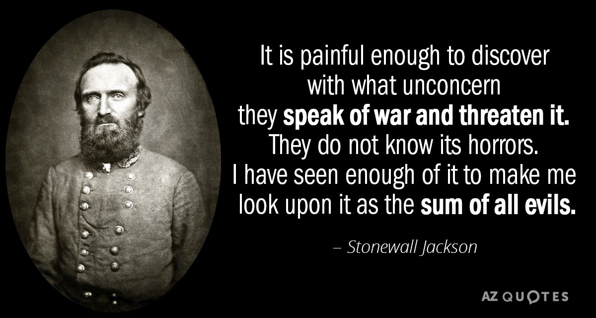 Stonewall Jackson Quotes Adorable TOP 48 QUOTES BY STONEWALL JACKSON Of 48 AZ Quotes