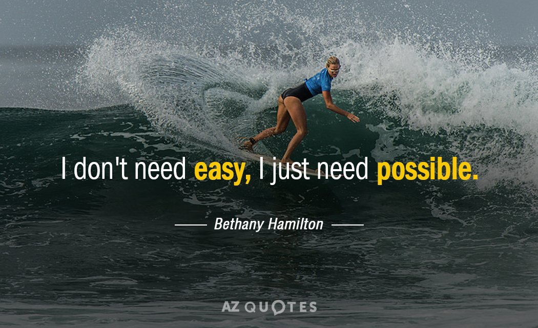 Image result for bethany hamilton quotes