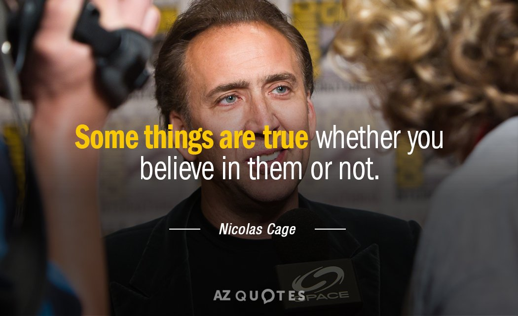 TOP 25 QUOTES BY NICOLAS CAGE (of 271)