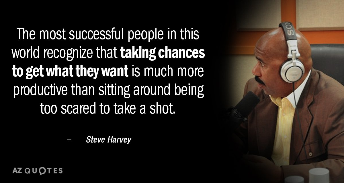 Steve Harvey quote: The most successful people in this world ...