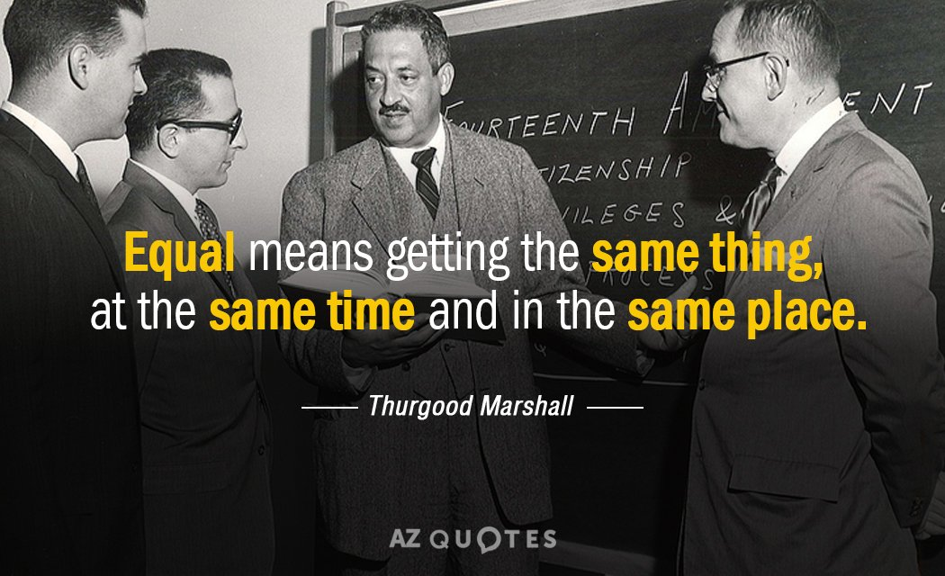 TOP 60 QUOTES BY THURGOOD MARSHALL AZ Quotes Stunning Thurgood Marshall Quotes