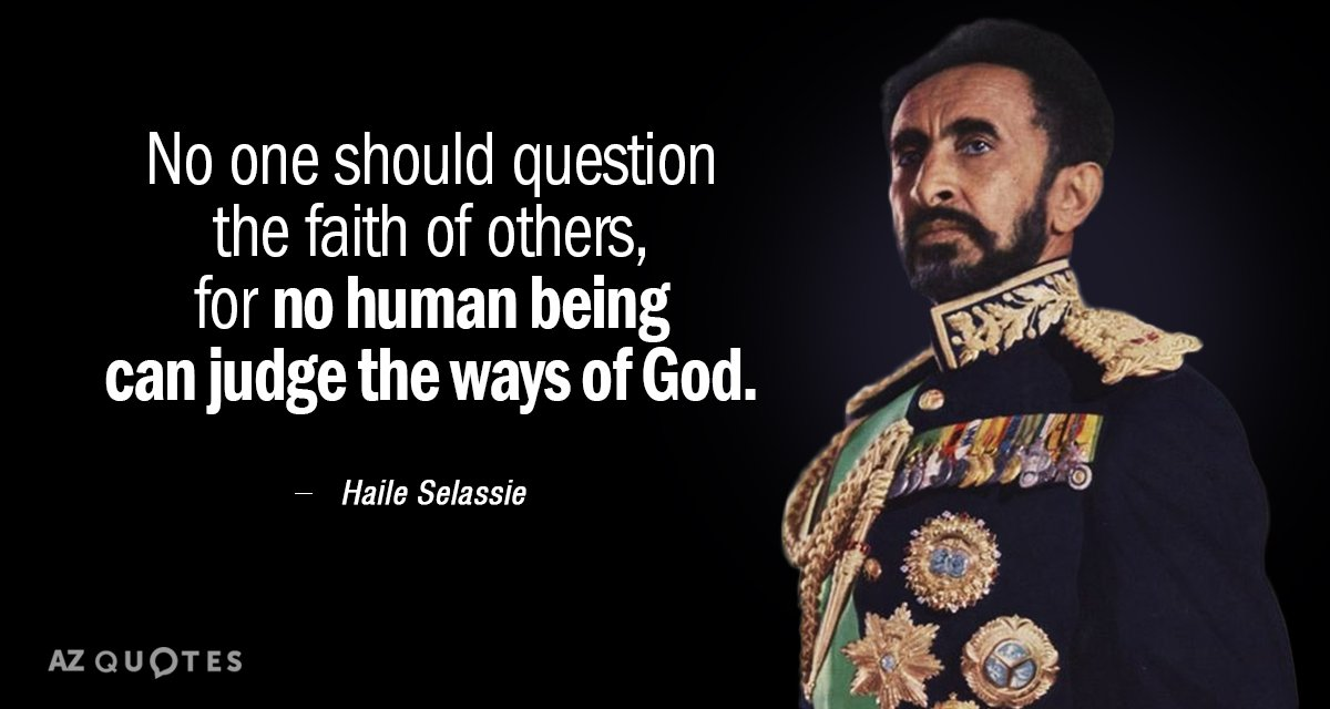 Top 25 Quotes By Haile Selassie Of 83 A Z Quotes