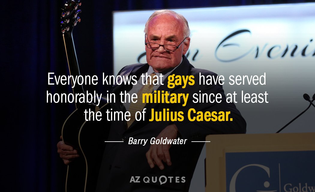 Barry goldwater gay quote