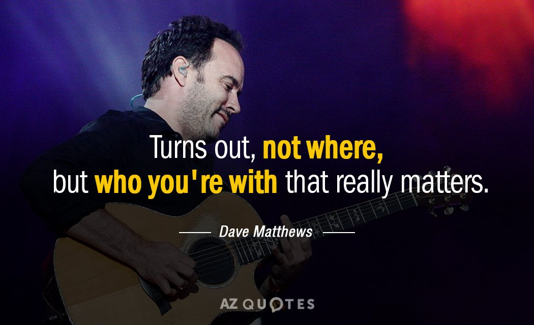 TOP 25 QUOTES BY DAVE MATTHEWS (of 188)