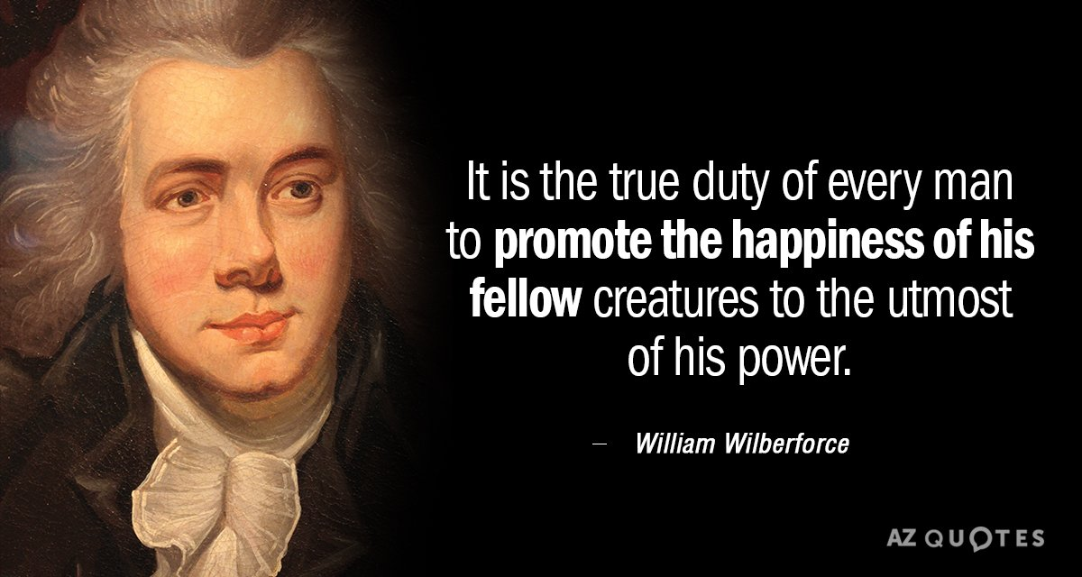 TOP 25 QUOTES BY WILLIAM WILBERFORCE (of 72)