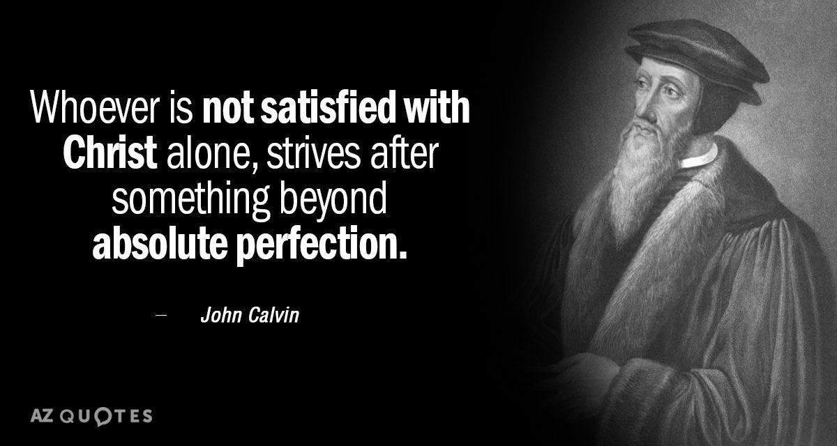 Top 25 Quotes By John Calvin Of 410 A Z Quotes