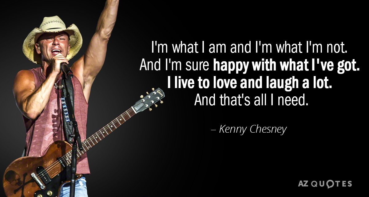 Kenny Chesney quote: it\'s a smile, it\'s a kiss, it\'s a sip of...