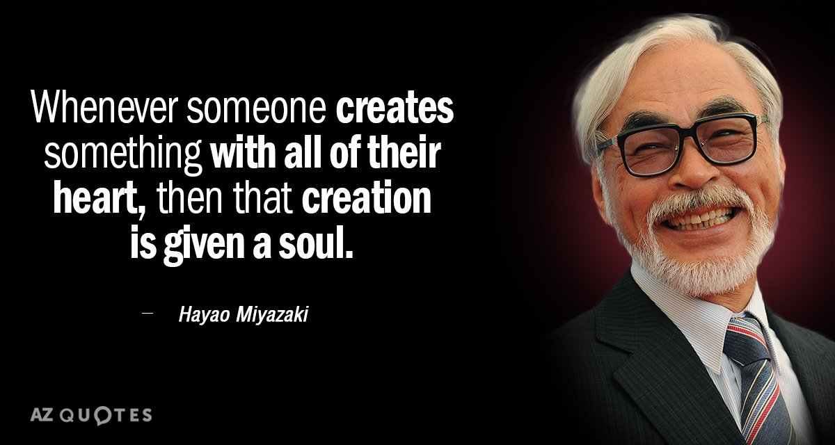 top 25 quotes by hayao miyazaki  of 105