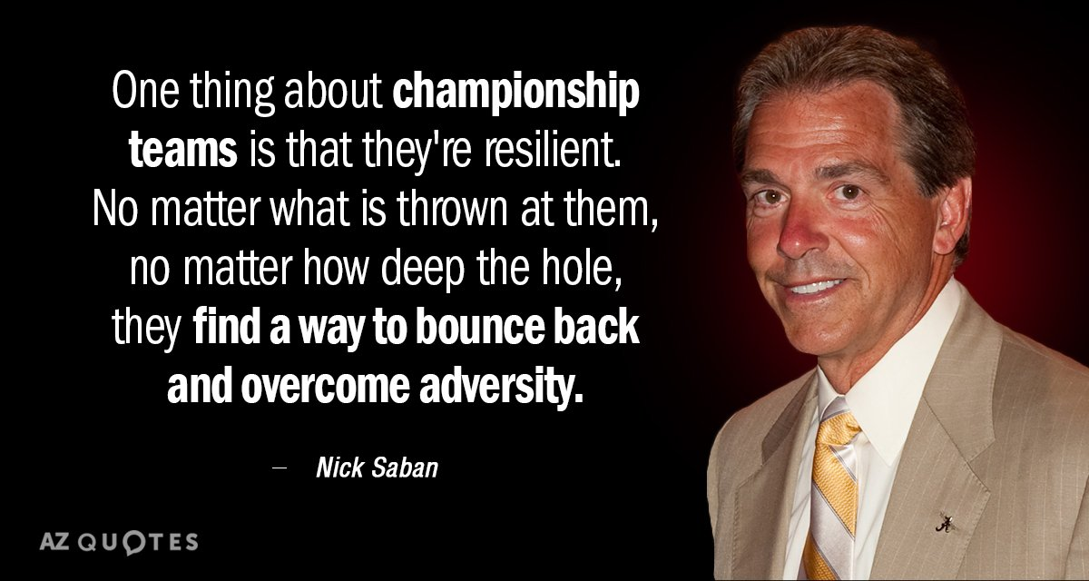 Top 25 Quotes By Nick Saban Of 62 A Z Quotes