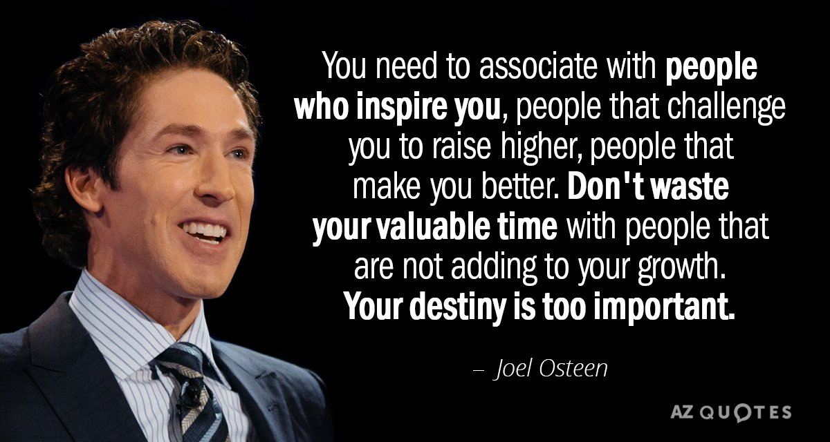 Top 25 Quotes By Joel Osteen Of 768 A Z Quotes