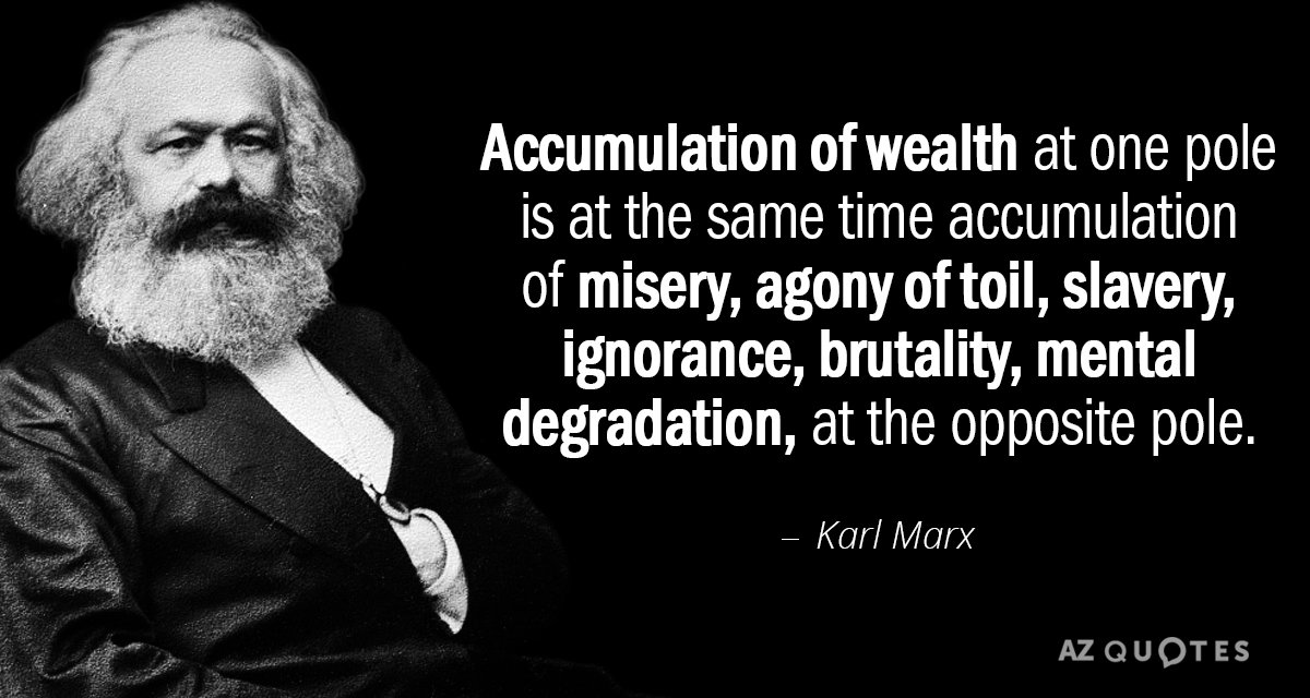 TOP 25 QUOTES BY KARL MARX (of 414) | A-Z Quotes