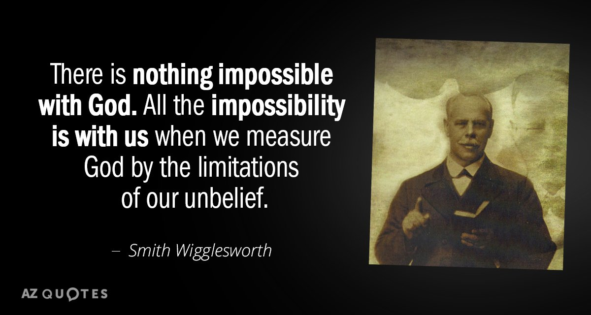 TOP 60 QUOTES BY SMITH WIGGLESWORTH Of 60 AZ Quotes Magnificent Smith Wigglesworth Quotes