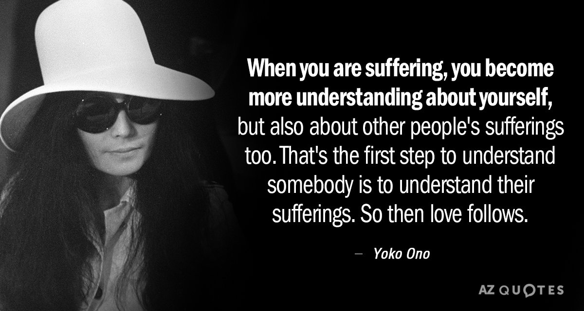 Top 25 Quotes By Yoko Ono Of 356 A Z Quotes