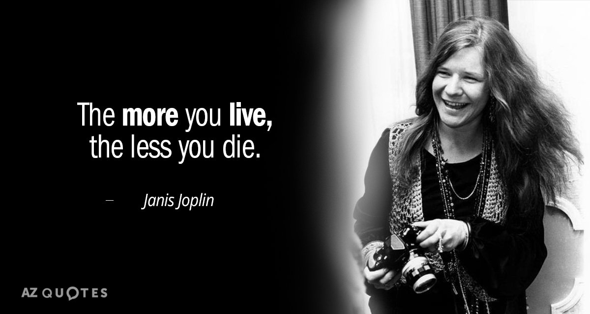 TOP 60 QUOTES BY JANIS JOPLIN Of 60 AZ Quotes Unique Janis Joplin Quotes