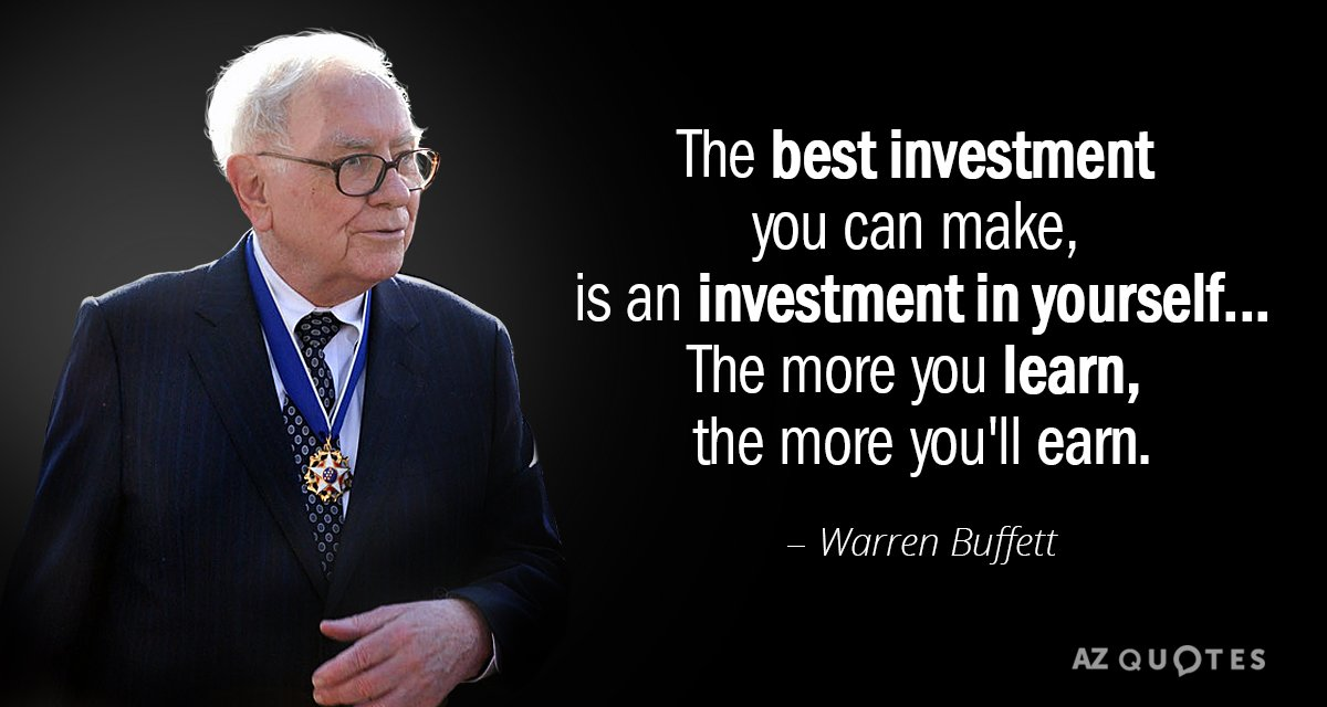 TOP 25 QUOTES BY WARREN BUFFETT (of 958)