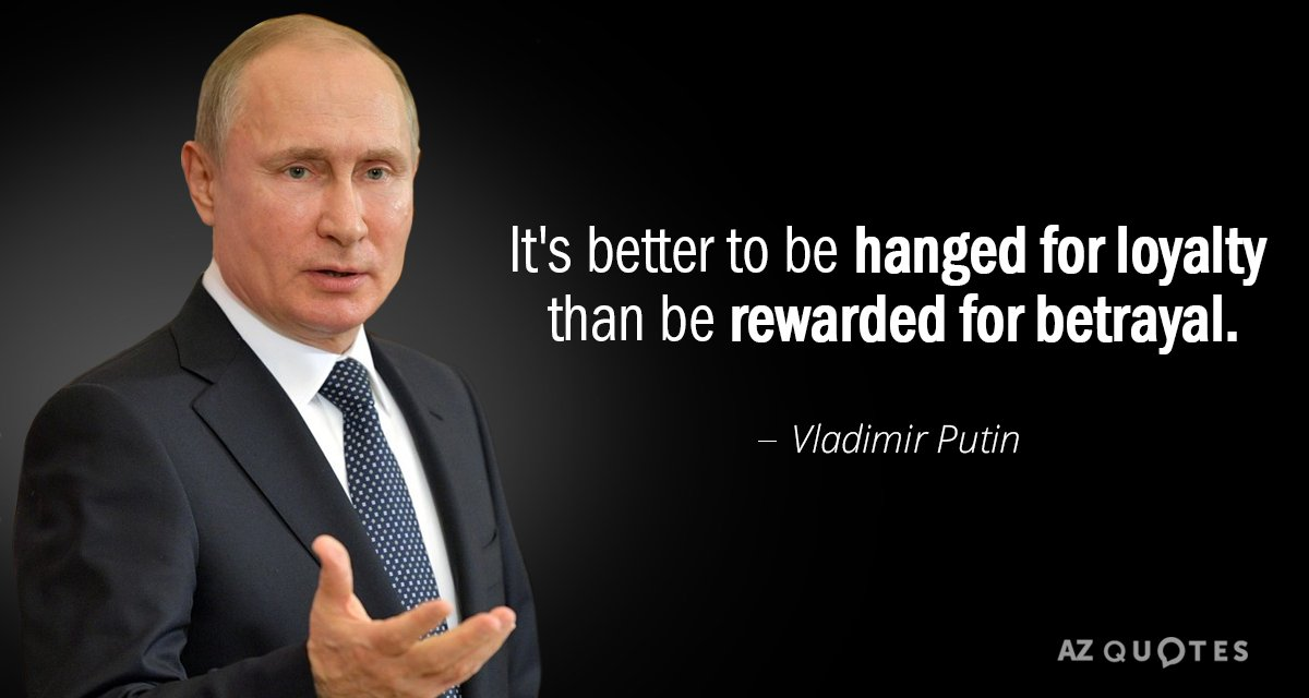 TOP 25 QUOTES BY VLADIMIR PUTIN Of 693