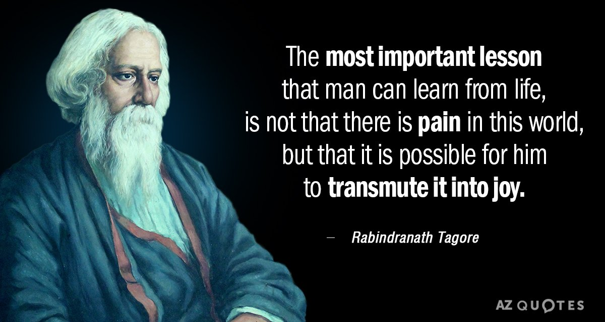 Top 25 Quotes By Rabindranath Tagore Of 435 A Z Quotes