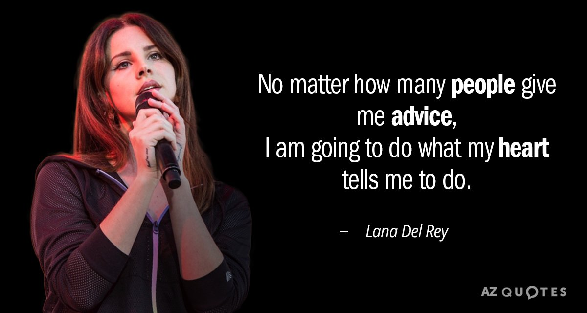 TOP 25 QUOTES BY LANA DEL REY (of 185) | A-Z Quotes