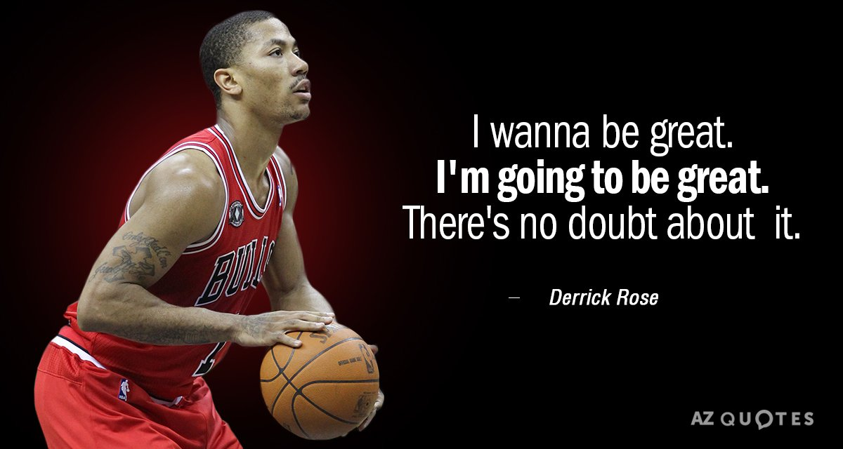 f7b332fd9632 TOP 25 QUOTES BY DERRICK ROSE