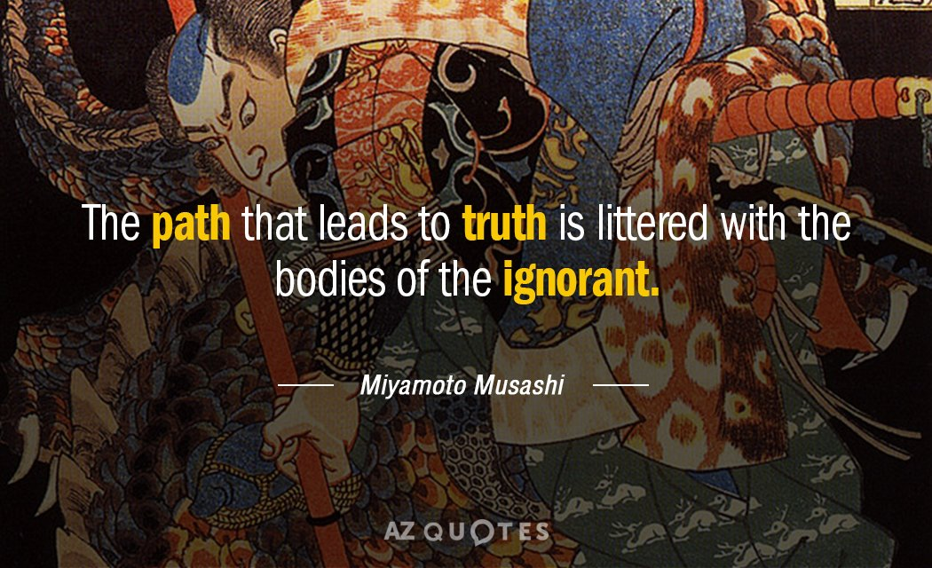 Top 25 Quotes By Miyamoto Musashi Of 135 A Z Quotes