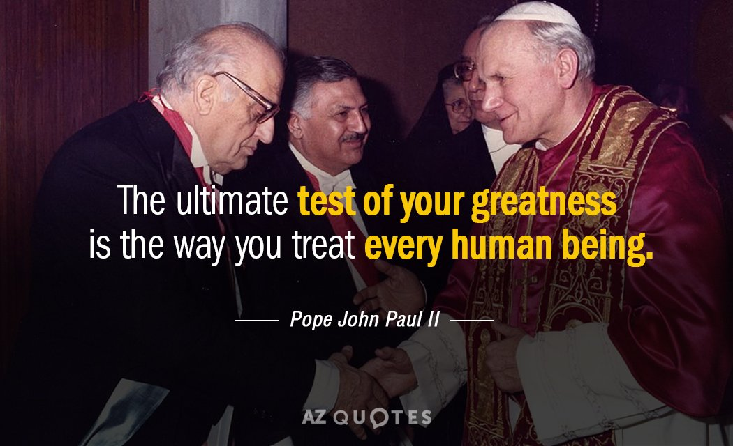 TOP 25 QUOTES BY POPE JOHN PAUL II (of 514) | A-Z Quotes