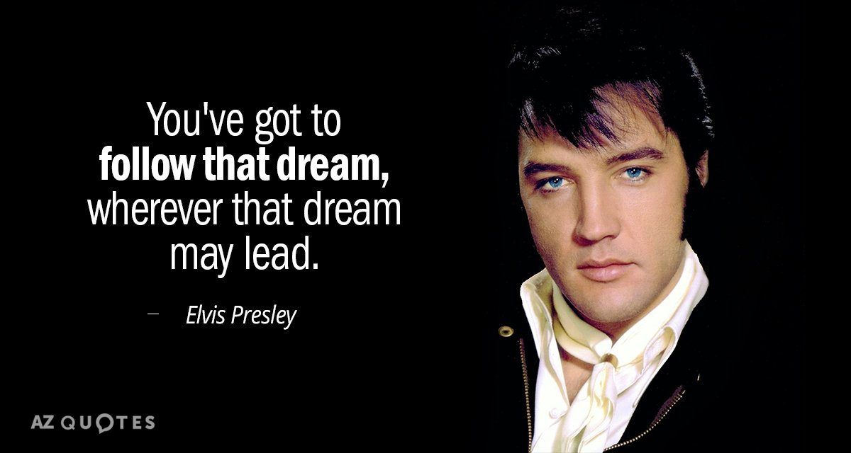 TOP 60 QUOTES BY ELVIS PRESLEY Of 60 AZ Quotes Awesome Elvis Presley Quotes